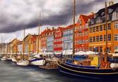 Nyhavn Copenhague Marie Claire Houmeau