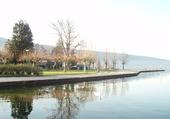 Un signe sur le lac d'Annecy