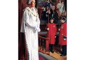 Queen Elizabeth II Andrew Festing