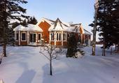 Puzzle Paysage d'hiver en Gaspésie