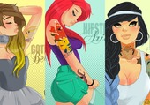 princesses hipster