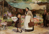 le marché aux fleurs-GILBERT V-G.l
