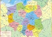 Puzzle Carte Pologne