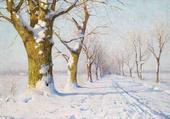 Une journée d'hiver ensoleillée