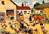 Puzzle Cour de ferme