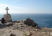 Le cap Fisterra, Galice (Espagne)