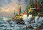 Le phare de Thomas Kinkade