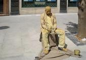 Puzzle Statue dans la rue