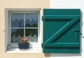 Fenêtre d'une maison en Bretagne