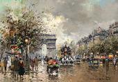 Puzzle Champs Elysées et Arc de Triomphe