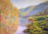 Rive de la Seine en automne