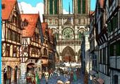 Puzzle Paris au moyen age