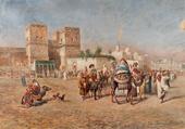 Départ de la Caravane de M de Franceschi