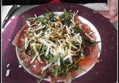 Carpaccio-Parmesan-Roquette