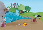 Puzzle dragon loup Martine