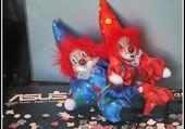 Deux petits clowns