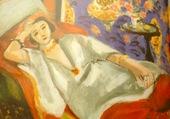 odalisque au pantalon rouge Matisse