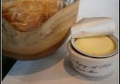 Du pain et du beurre.