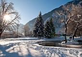 Puzzle Village d'Oisans sous la neige