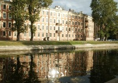 reflets à St-Petersburg
