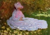 La Liseuse, par Claude Monet