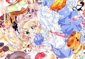 Puzzle image sucré manga