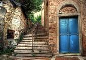 Une vieille porte à Istambul