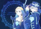jack frost et elsa carnival