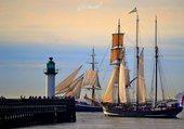 3 mats Neerlandais port de Calais