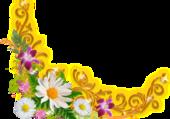 Puzzle fleur d'angle