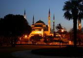 la mosquée bleue d'Istanbul