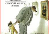 Puzzle Ernest et Célestine au musée
