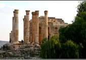 Les ruines de Jordanie.