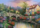 pont et maison