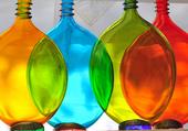 Puzzle vases de couleurs