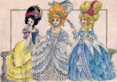 Puzzle princesses parisiennes