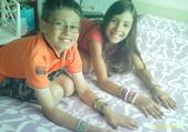 Puzzle enfants aux bracelets