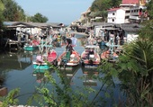 Port de pêche Hua Hin
