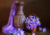 Harmonie de crocus violets