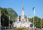 La basilique de Lourdes