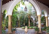 Puzzle Un patio espagnol