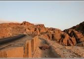 Une route en Jordanie