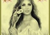 une jolie femme