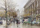 Puzzle Paris, le marché aux fleurs