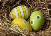Puzzle Bientôt les oeufs de Pâques