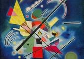 Puzzle kandinsky-blue painting 1924