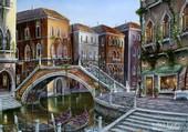 Lever de soleil sur Venise