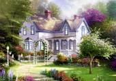 Puzzle Maison victorienne