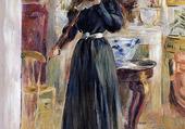 Julie Playing à Violin