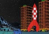 Fusée lunaire Tintin